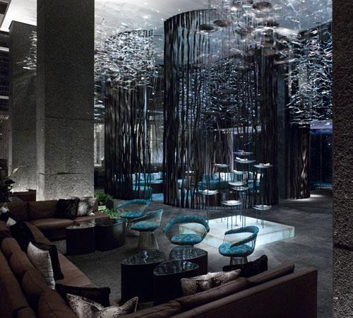 W Atlanta Downtown - living room