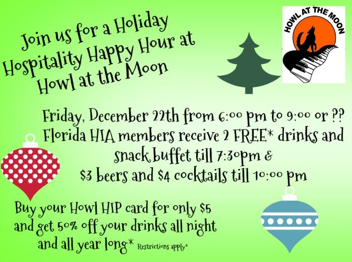 Howl at the Moon Happy Hour