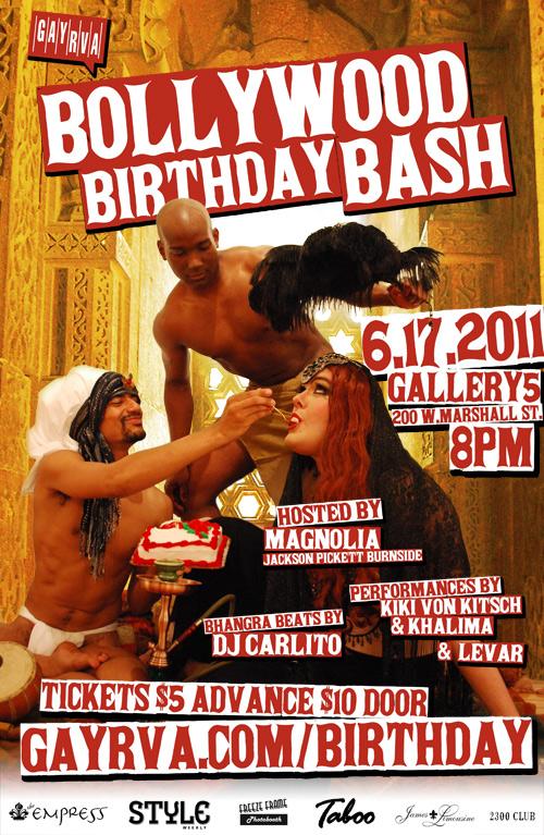 GayRVA's Bollywood Birthday Bash