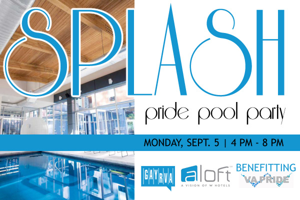 SPLASH! Pool Party Benefitting Virginia Pride