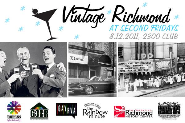 Vintage Richmond Historic Happy Hour