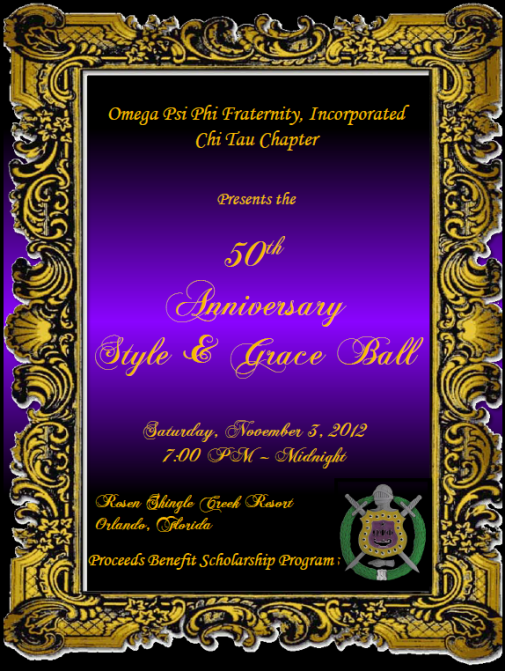 Style GRace 50 Year Anniversary Flyer