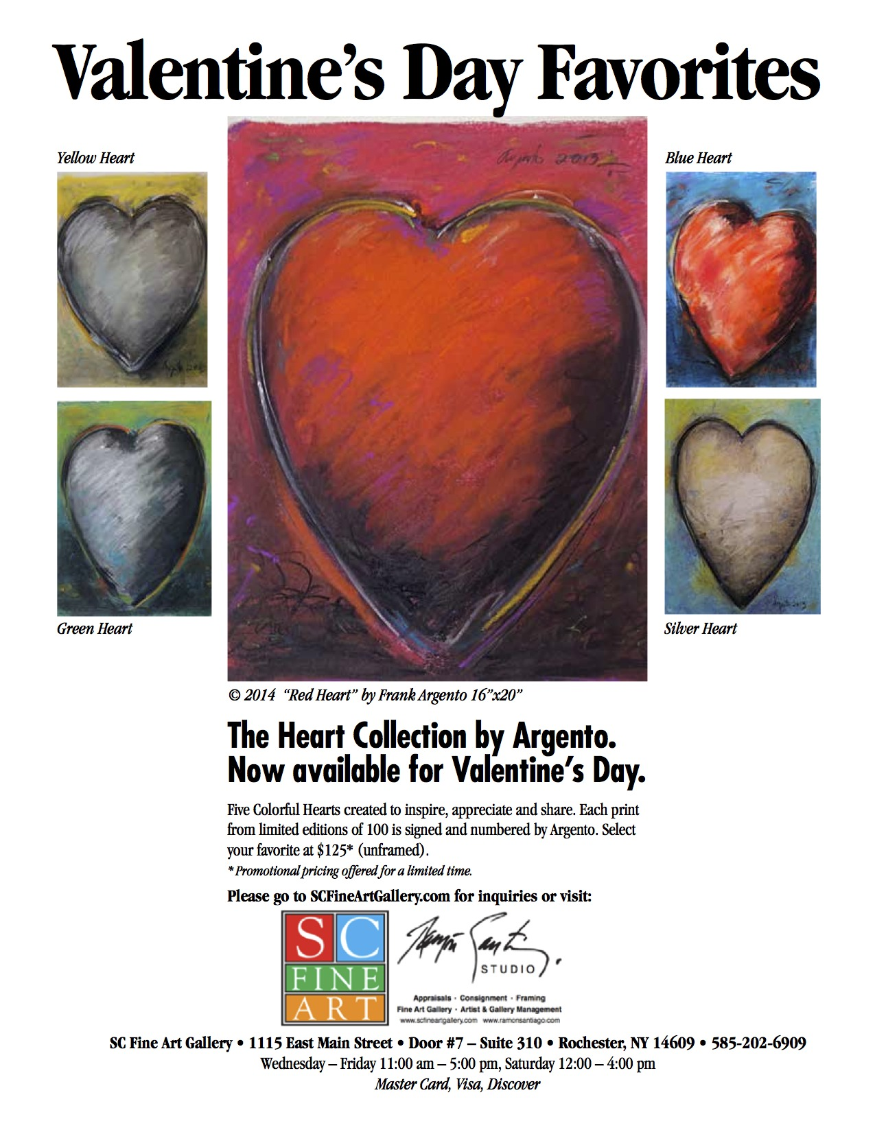 Five Hearts Series Flier