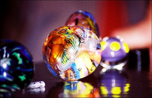 image of glass paperweight