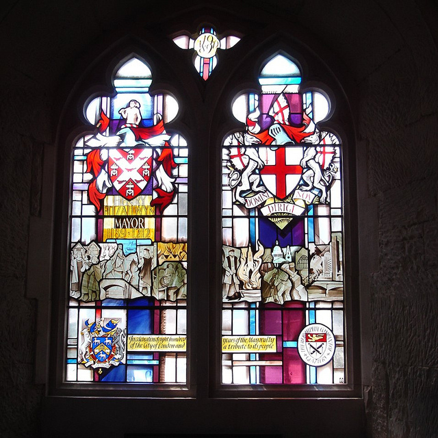 Mayorial Window by Alfred Fisher