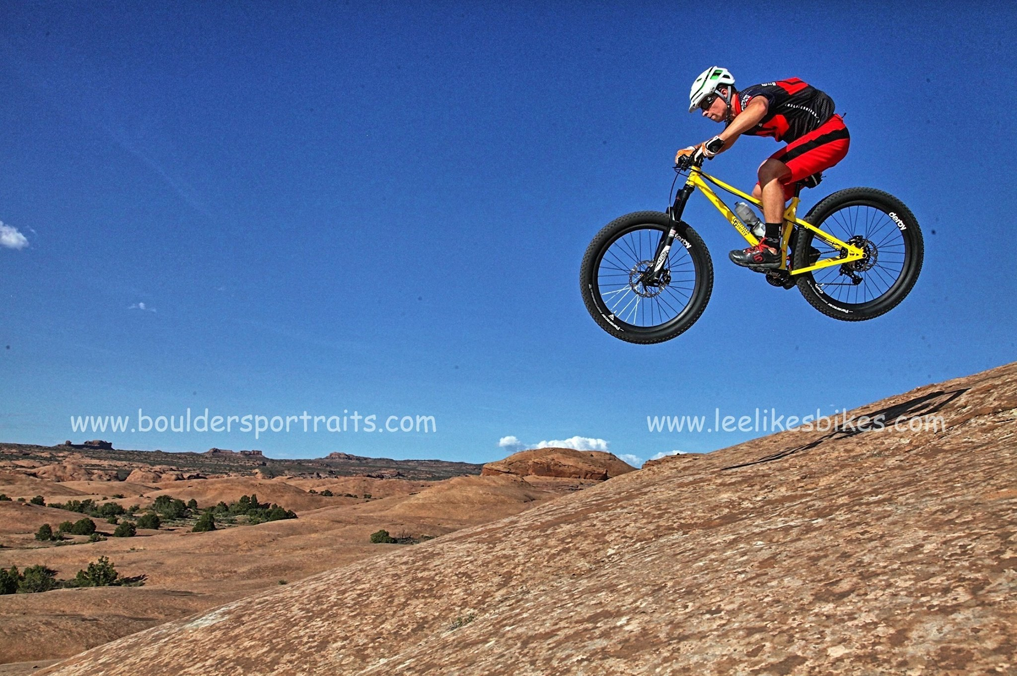 Kevin sends it in Moab