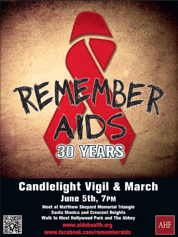 remember aids poster