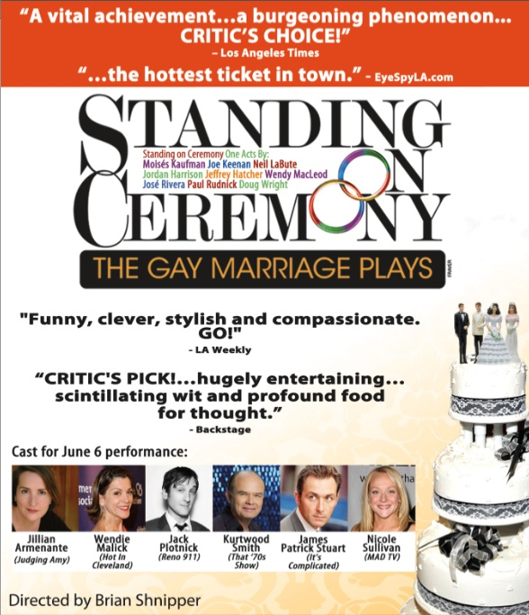 standing on ceremony flyer