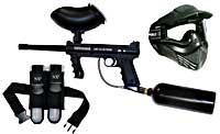 warped paintball rental