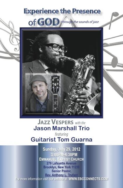 Jazz Vespers event