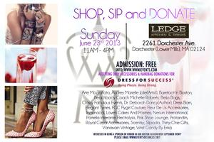 SHOP, SIP and DONATE to DRESS FOR SUCCESS (A WWMI EVENT)