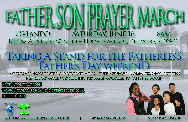 FATHER SON PRAYER MARCH