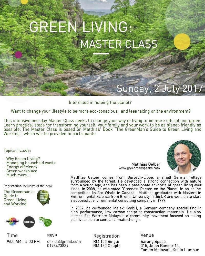 Green Living Workshop