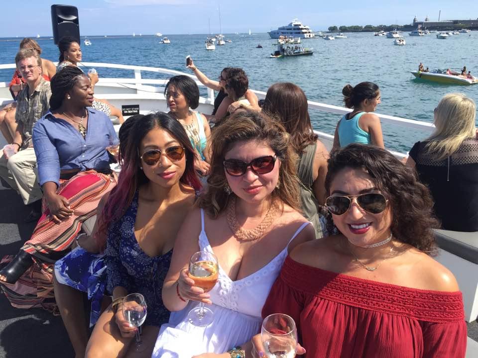 Lake Michigan Boat Party
