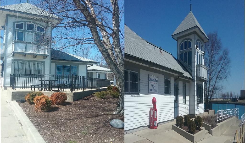 Burnham Harbor Boathouse and Check-in Area
