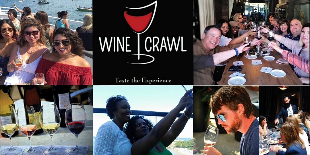 Eventbrite Wine Crawl Collage