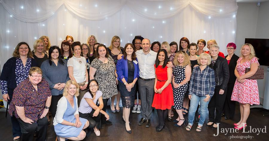 Pete cohen at the business womans network essex