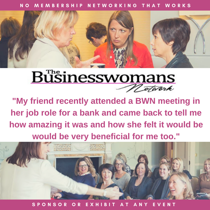 Business women networking at The Business Womans Network Essex Suffolk Norfolk Warwickshire Hertfordshire and London