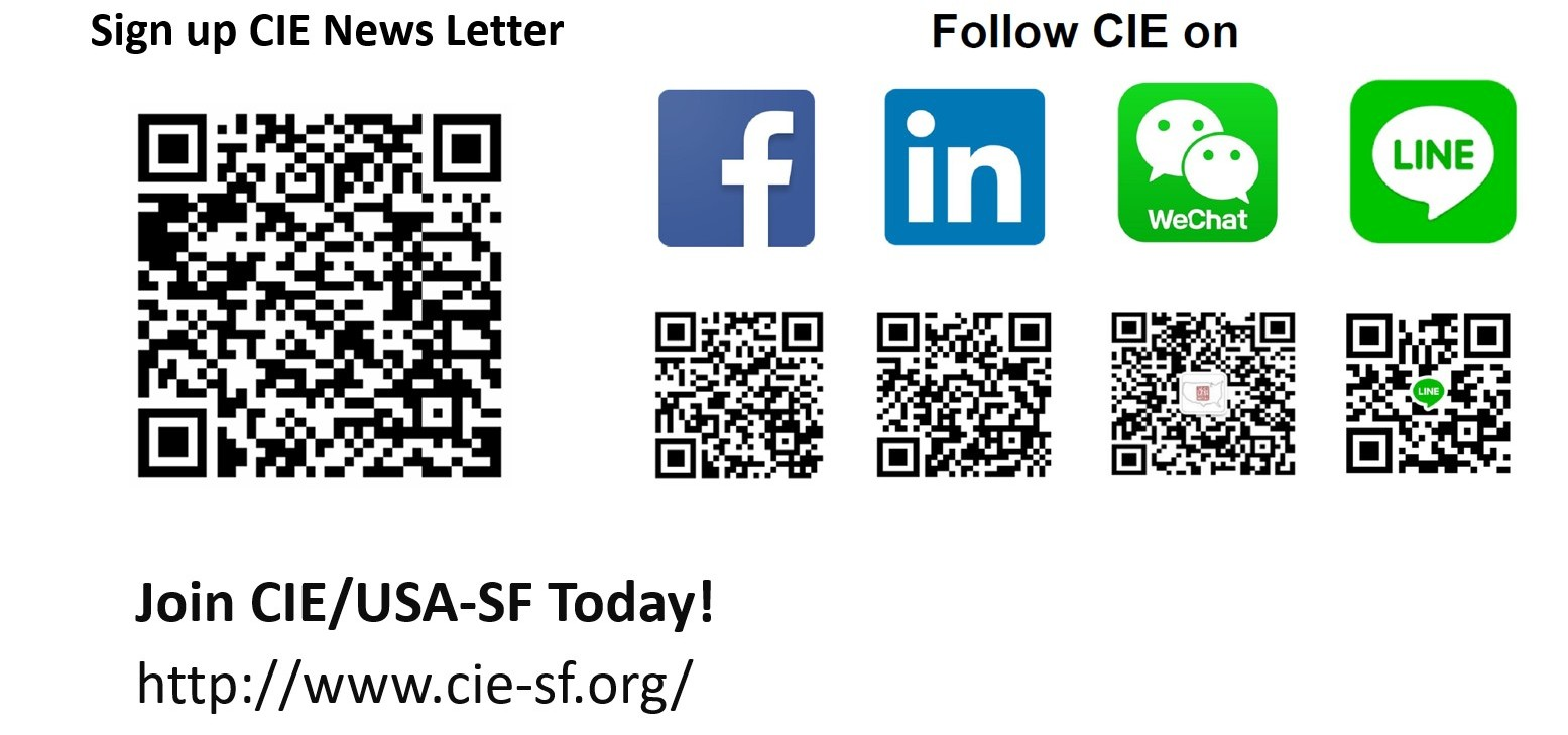 CIE contact QR codes