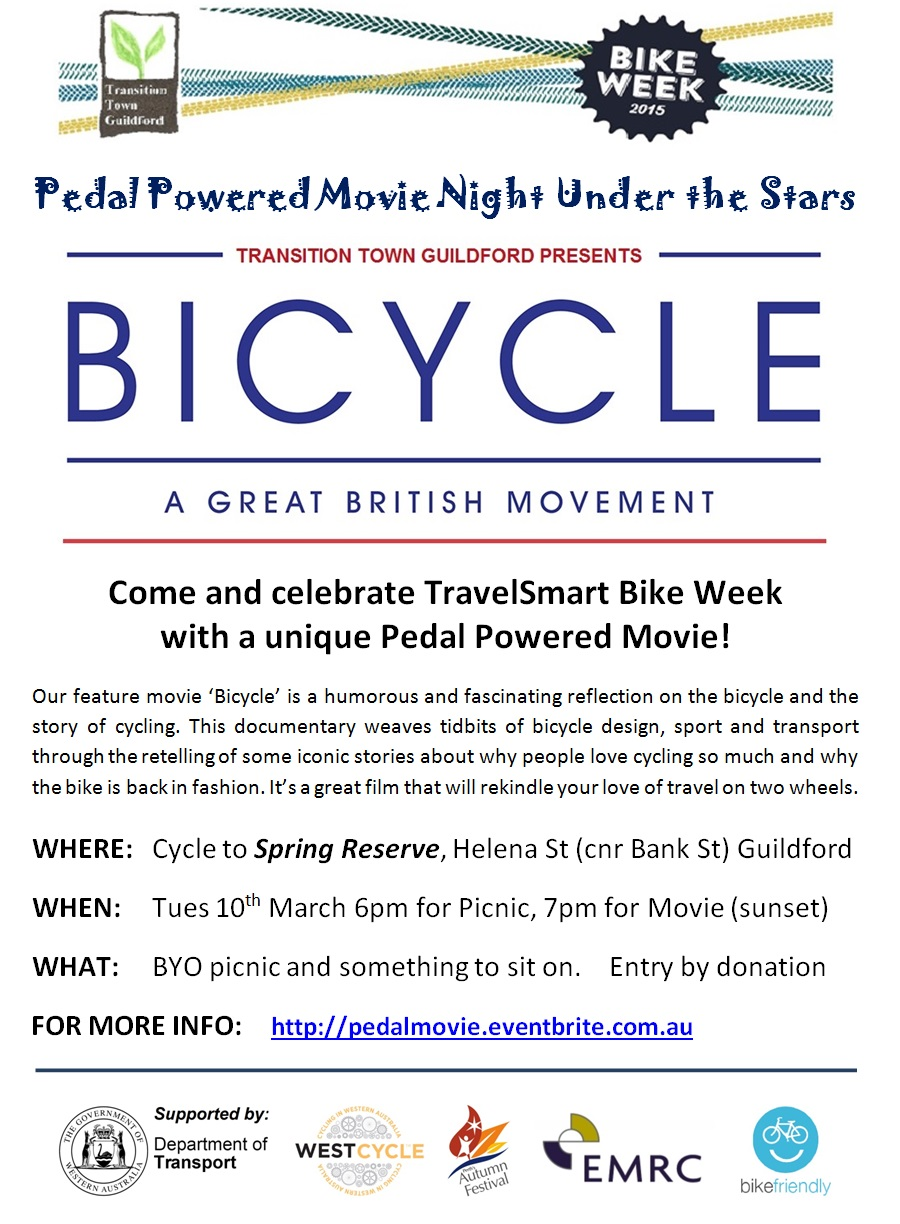 Pedal movie flyer