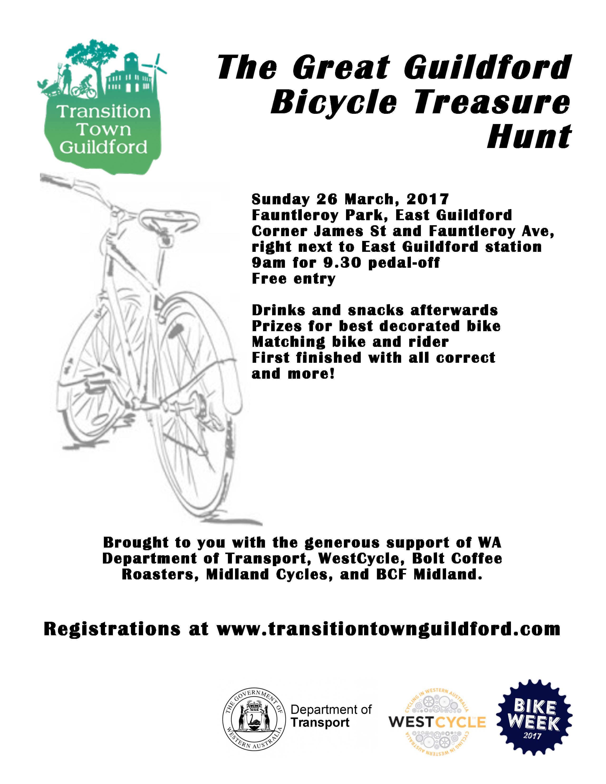 Bike Hunt poster 2017