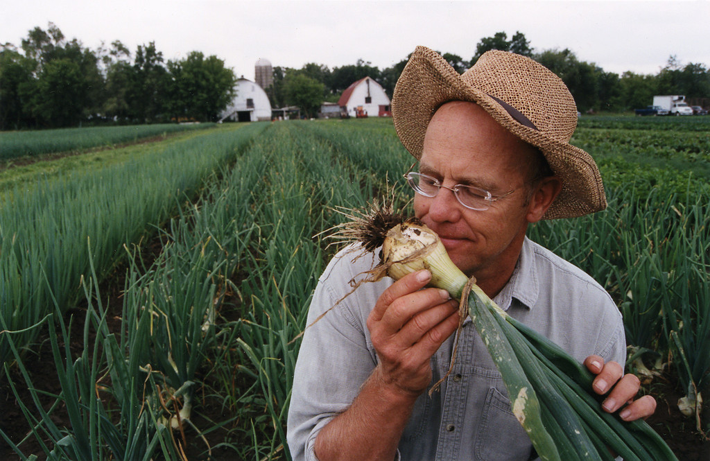 Farmer John with Onion