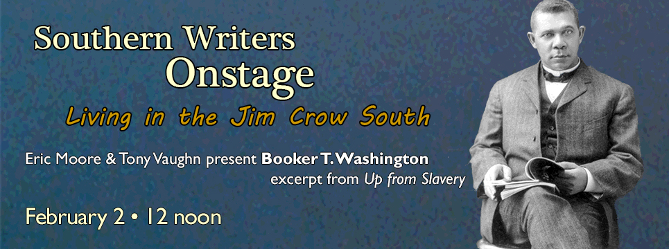 CENCIA at GSU Southern Writers Onstage Booker T. Washington