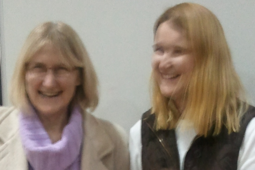 Anne and Laura