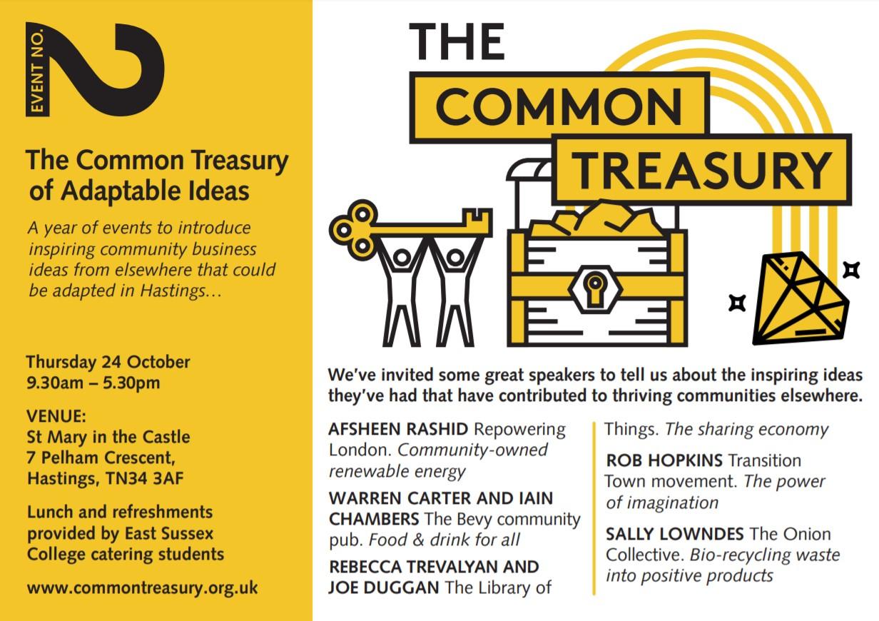 Common Treasury Speakers