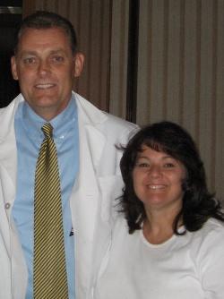 Kristine & Dr. Hill