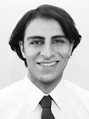Azad Amir-Ghassemi's Headshot