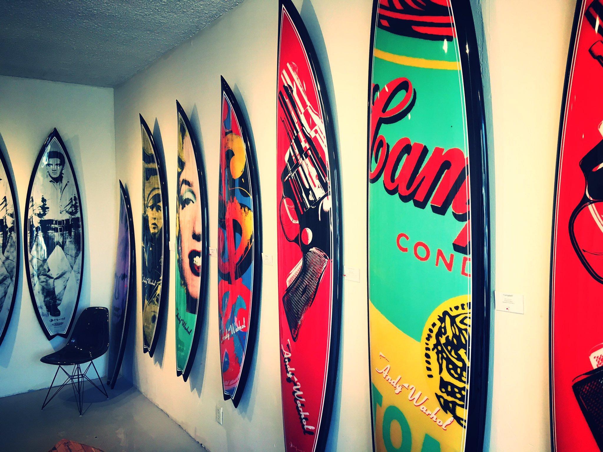 Artist Series Surboards by Tim Bessell