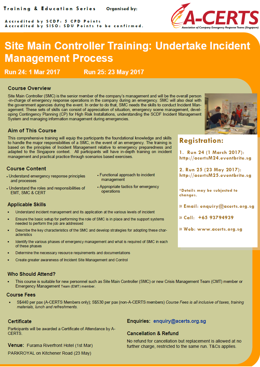 SMC Undertake Incident Management Processes