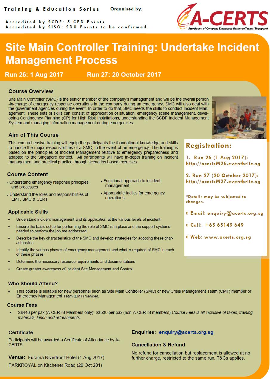 smc training development plan