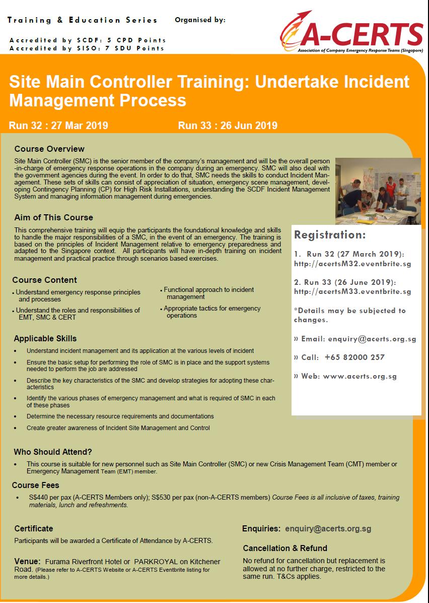 Undertake Incident Management Process