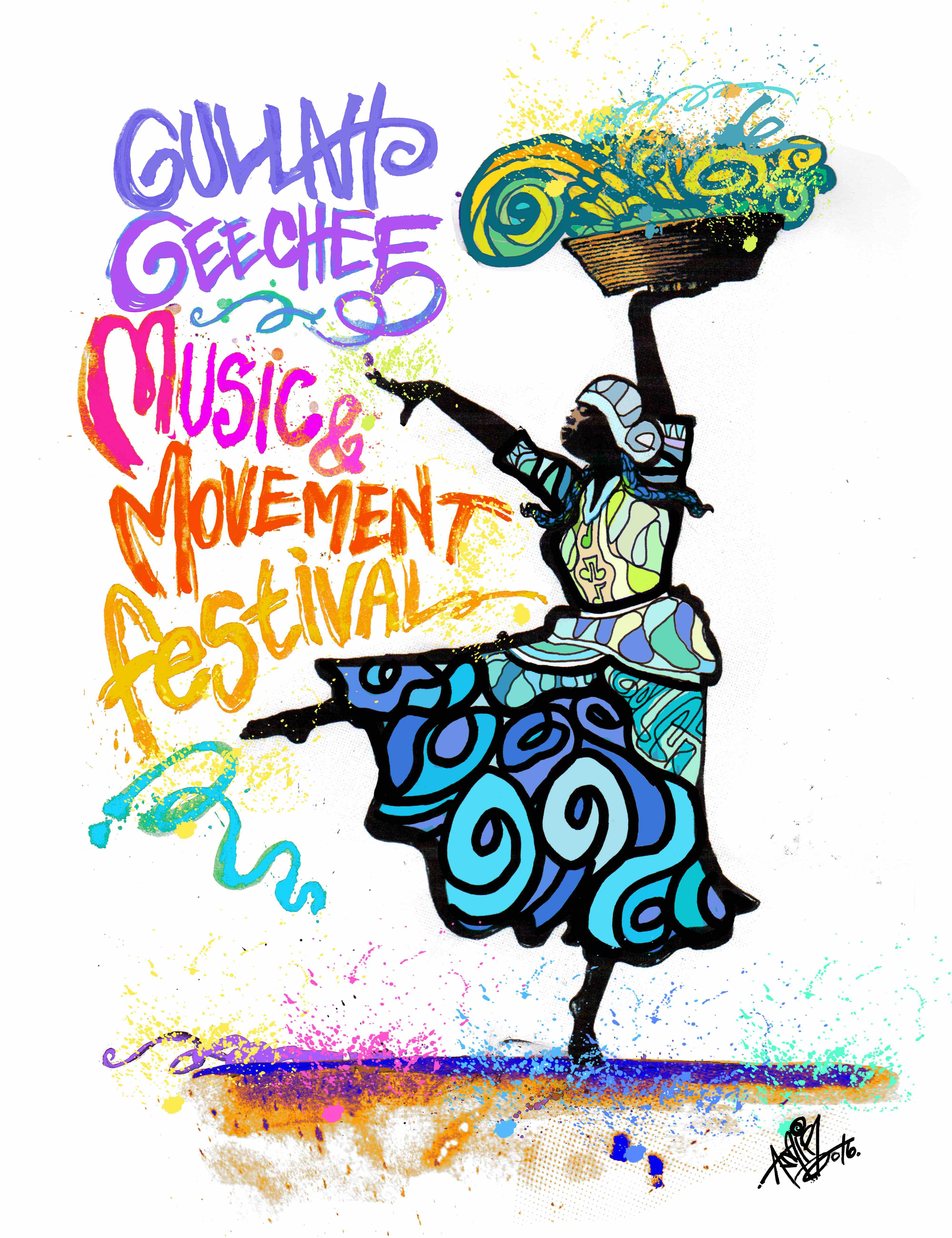 Gullah/Geechee Nation International Music & Movement Festival Logo