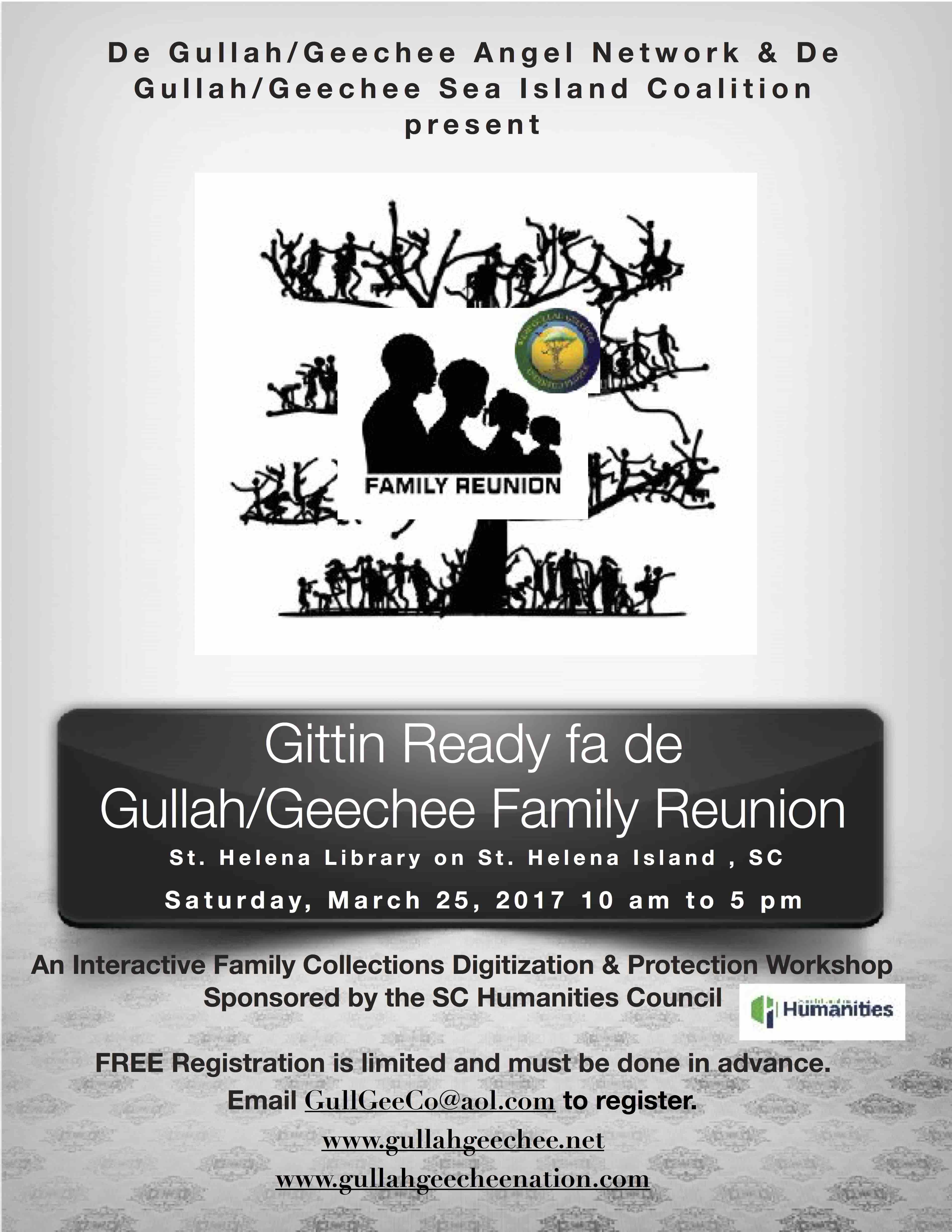 Gittin Ready fa de Gullah/Geechee Family Reunion
