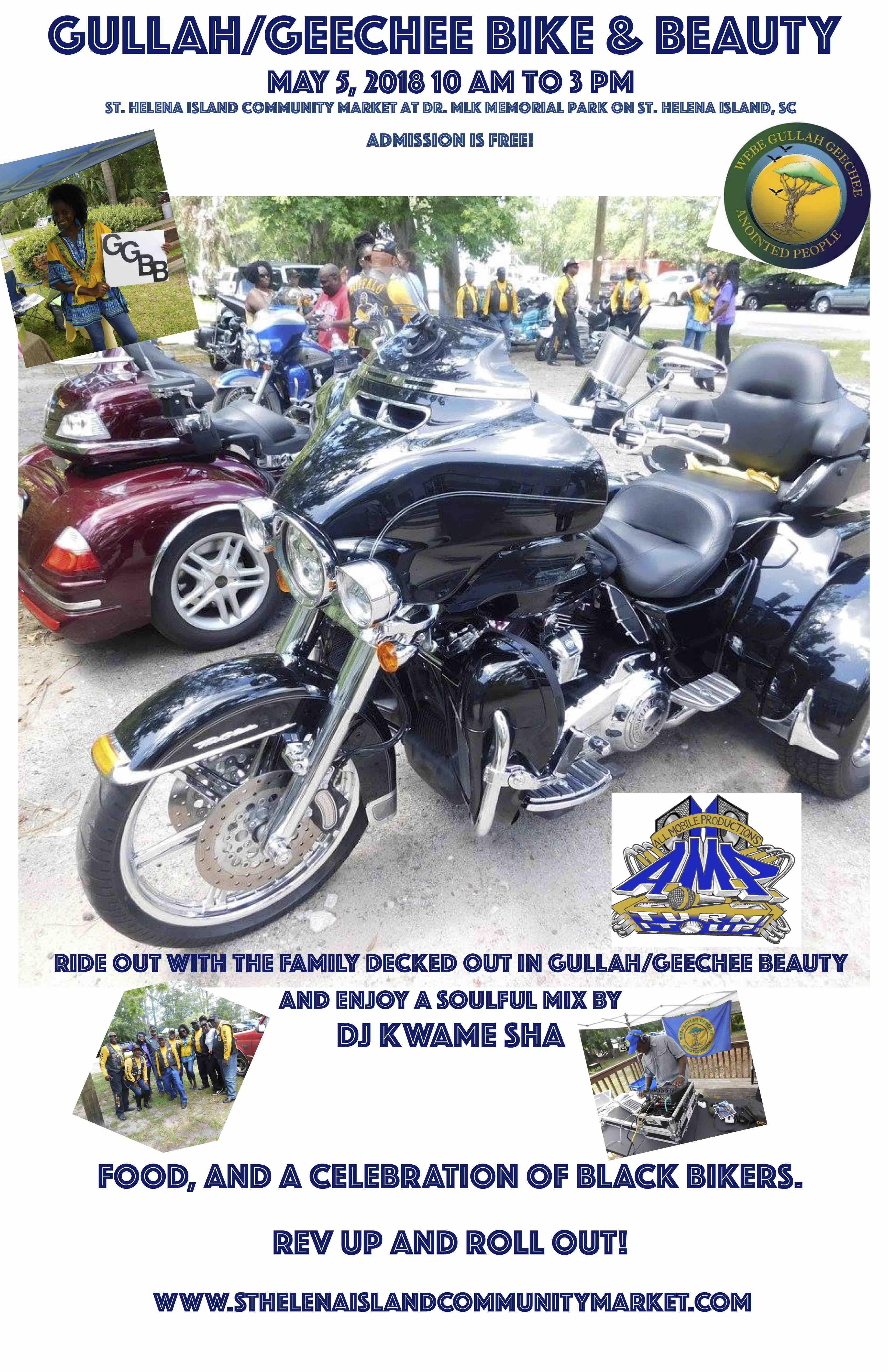 Gullah/Geechee Bike & Beauty 2018 Poster