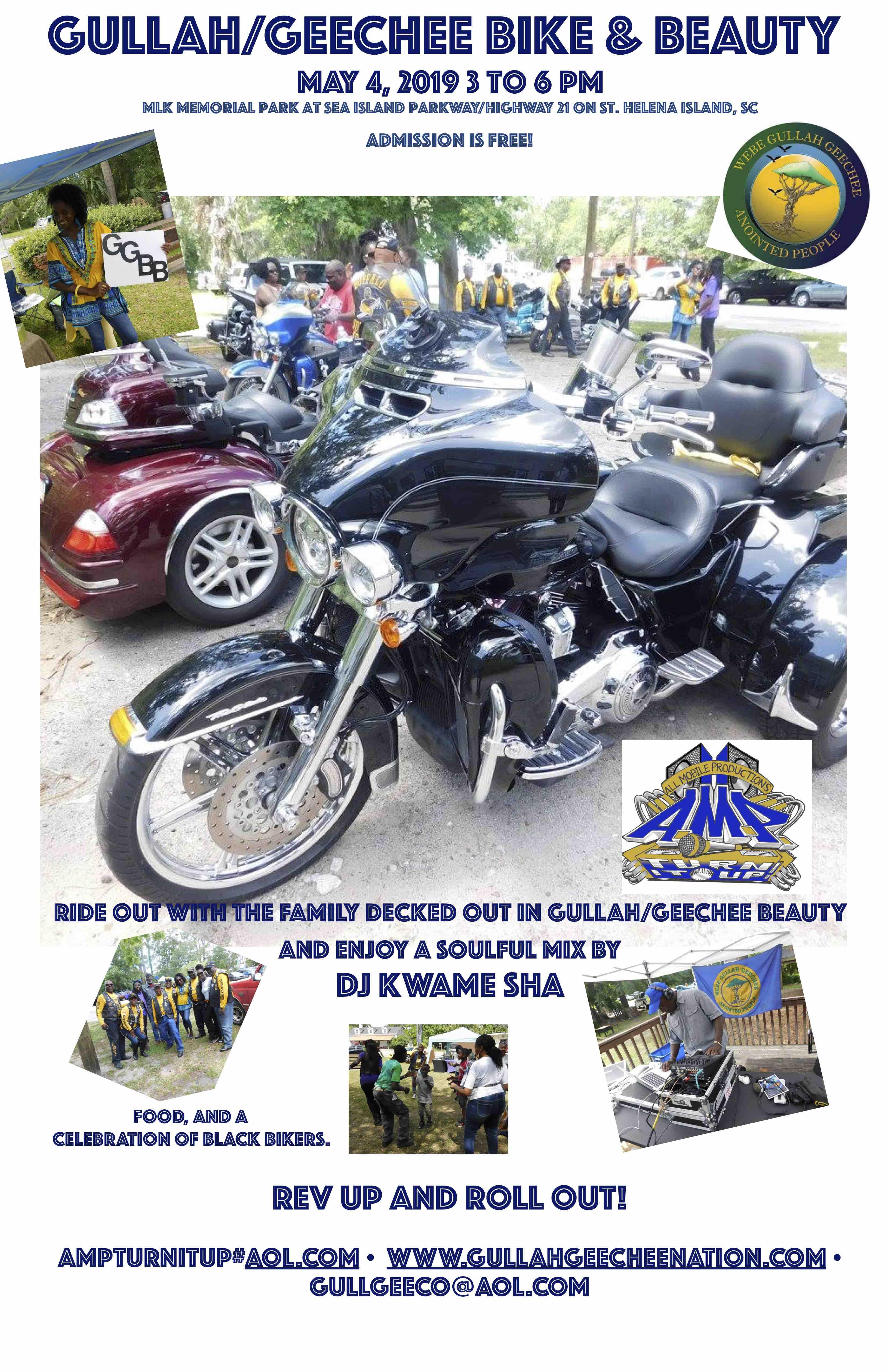 Gullah/Geechee Bike & Beauty 2019 Flyer