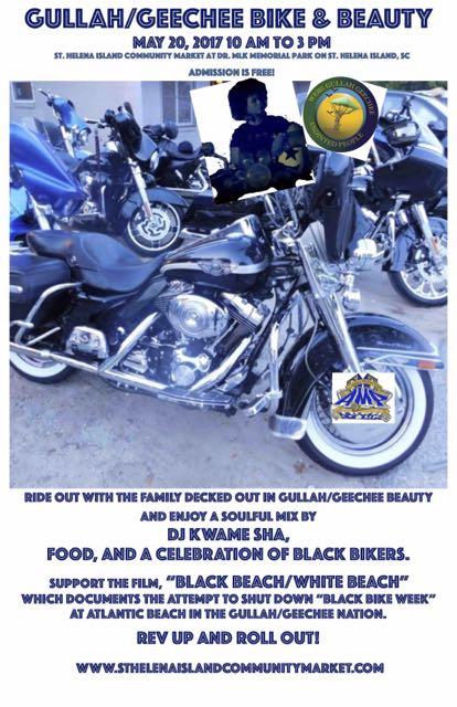 Gullah/Geechee Bike & Beauty Poster