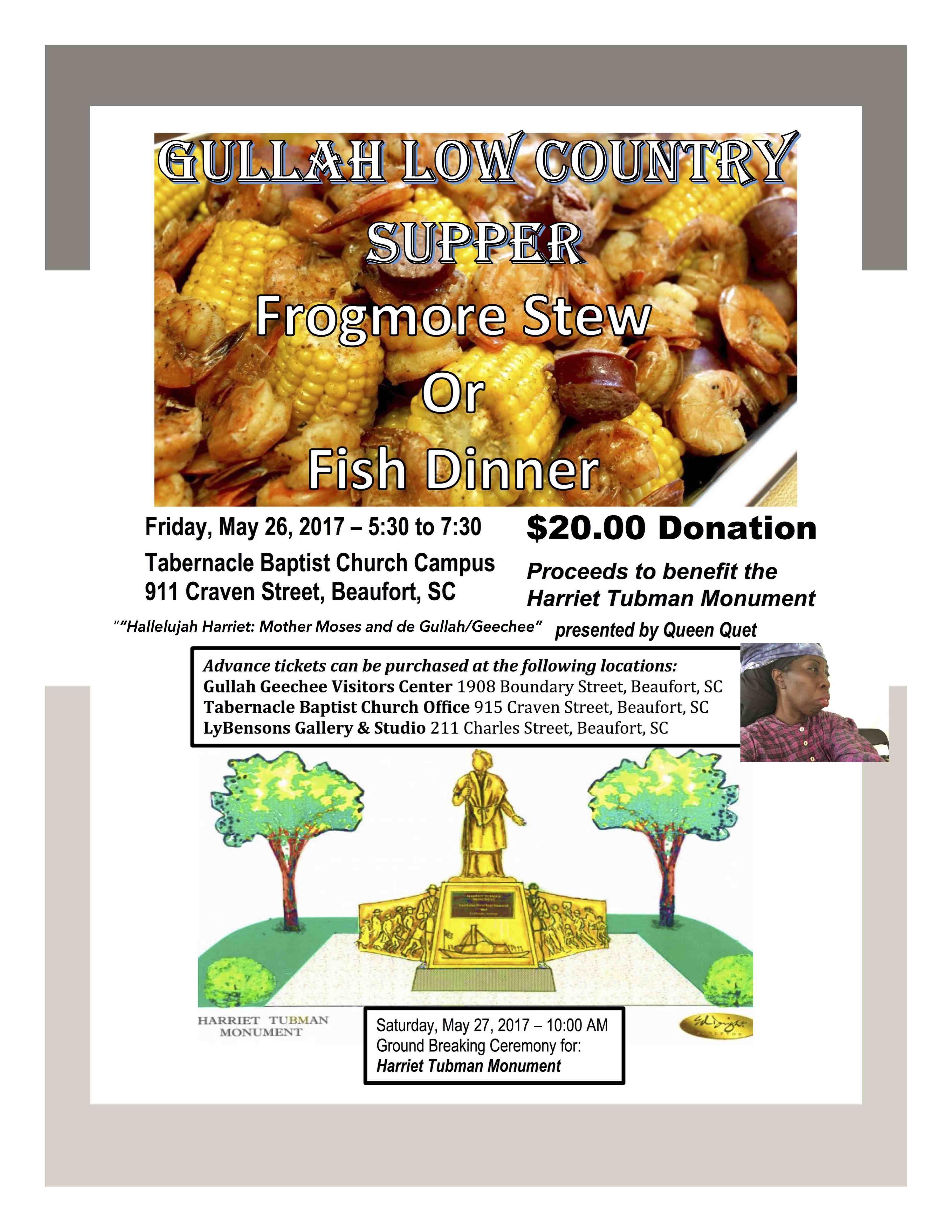 Gullah Lowcountry Dinner Theater