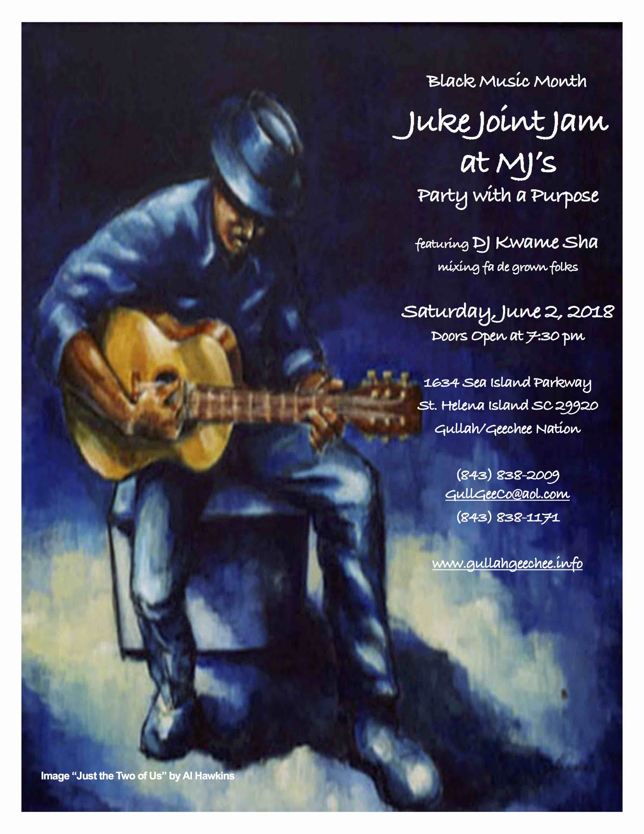 Juke Joint Jam at MJ's Flyer