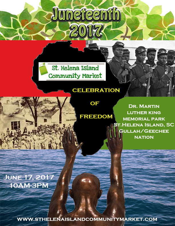 Juneteenth at the St. Helena Island Community Market