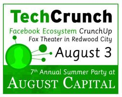 Facebook Ecosystem CrunchUp and 7th Annual Summer Outing at...
