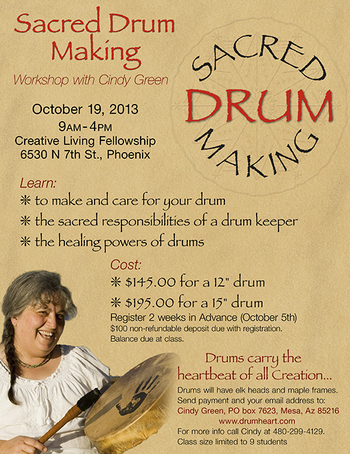 Sacred Drum Making