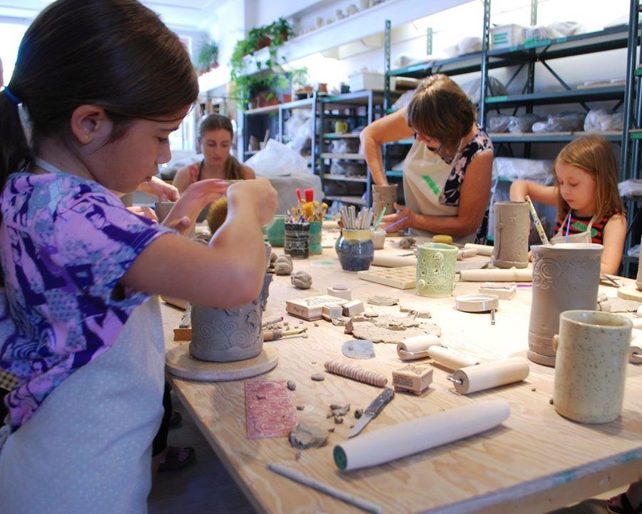 Hintonburg Pottery Handbuilding Classes