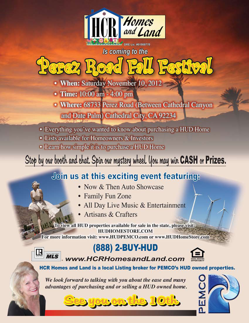 Perez Road Fall Festival Flyer