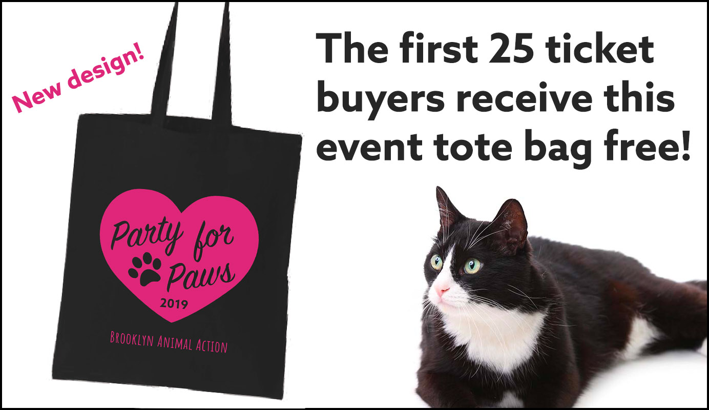 Party for Paws event tote