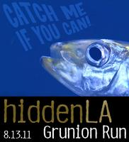 HiddenLA Grunion Run Night  - August