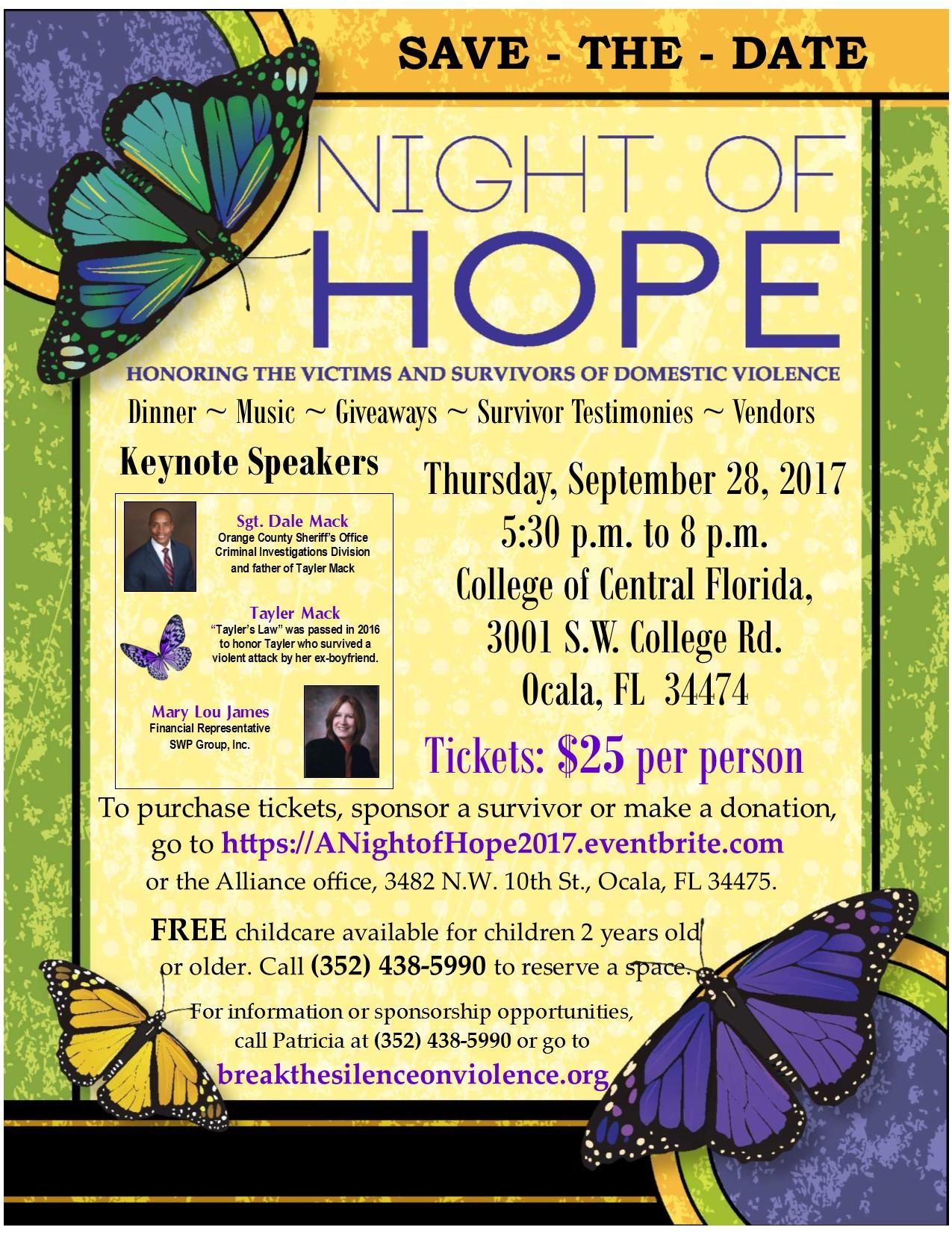 Annual Night of Hope